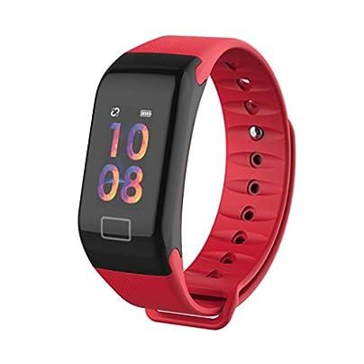 HFXLH Smart Watch Blood Pressure Waterproof Color Screen Sports Smart Bracelet Heart Rate Monitor Smart Wristband Smartwatch Bracelet Estimated Price £26.14 -