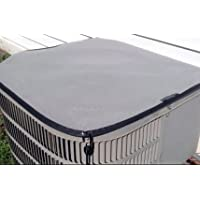 50% OFF Air Conditioner Cover - Gray Winter Premier Waterproof Top Cover - 36X36 - GRAY