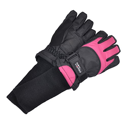 - SnowStoppers Kid's Waterproof Ski & Snowboard Winter Gloves Small / 6-10 Years Fuschia
