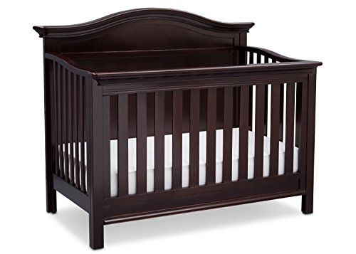 - Serta Bethpage 4-in-1 Convertible Baby Crib, Dark Chocolate