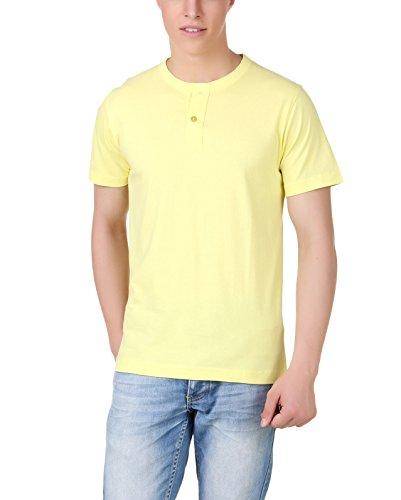 Aventura Outfitters Men's Henley (Yellow)