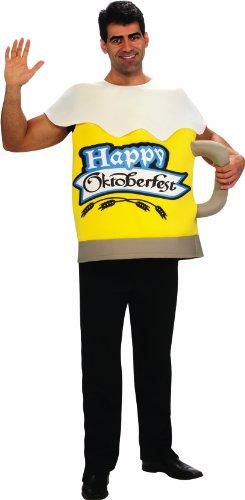 Rubie's Costume Beer Mug Adult Humor Costume, Yellow, Standard]()