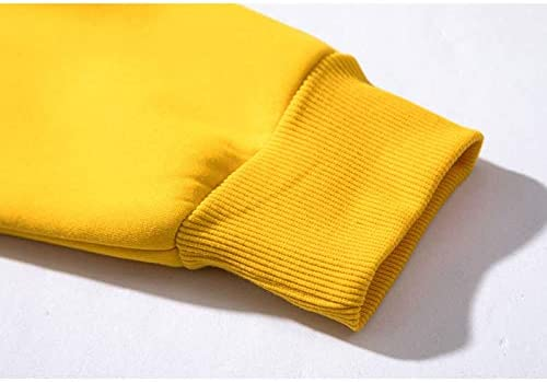 TENGGO High Street Schulter Hoodies Multi-Color Casual Sports Herren Farbe Block Langärmelige Sweatshirts-Khaki-2XL Dunkelgrau