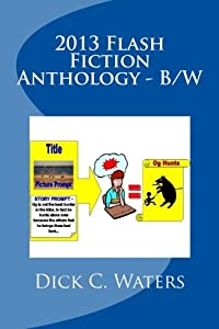 """2013 Flash Fiction Anthology - B/W: 41"""" One Minute Reads"""