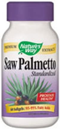 Natures Way Palmetto softgels Pack product image