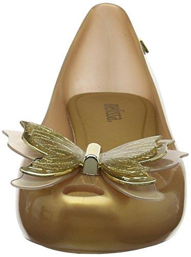 Gold Melissa Dorado Mujer Punta Abierta Butterfly Ultragirl 19604 soft q4q7w0OF