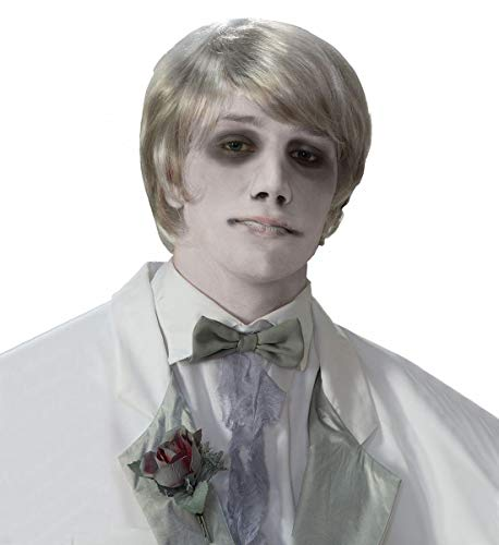 Forum Novelties Ghost Gentleman Wig Gray ()