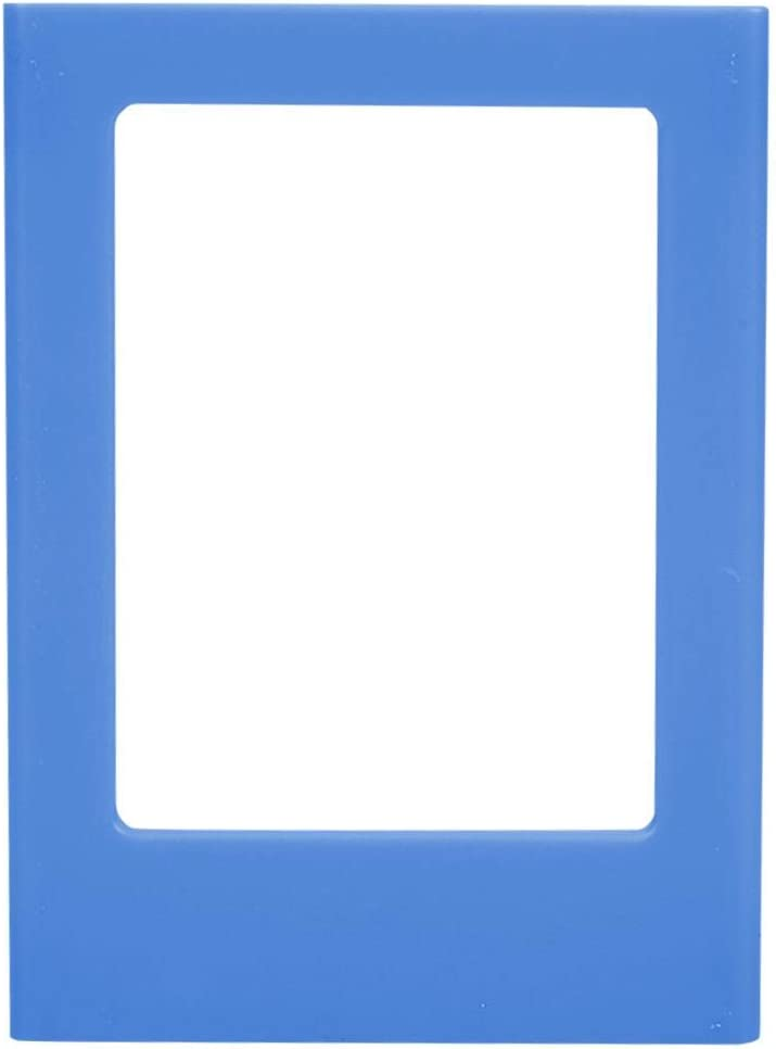 Colorful Magnetic Photo Frame Instant Magnetic Film Photo Camera Frames Polaroid Mini 3 Inch Photo Frame Holder Picture Frame Magnet for Refrigerator Iron Material Surfaces Decor 10 Pack