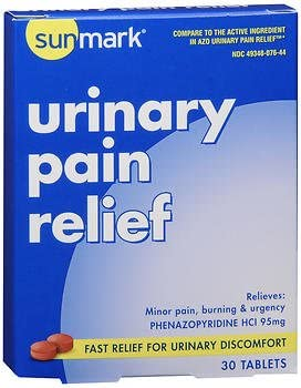 Sunmark Urinary Pain Relief Tablets
