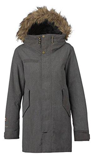 Fort Hood Zipper - Burton Men's Garrison Jacket, True Black, Medium