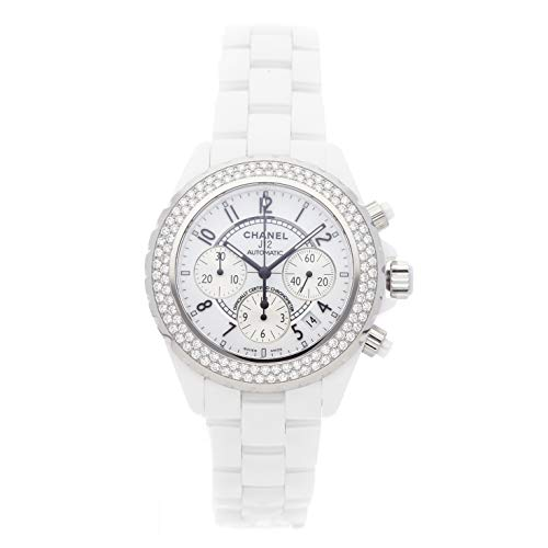 Chanel J12 Mechanical (Automatic) White Dial Womens Watch H1008 (Certified Pre-Owned)