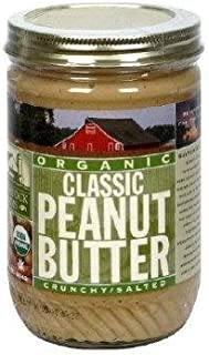 product image for Organic Classic Crunchy Peanut Butter 16 Ounces (Case of 12)