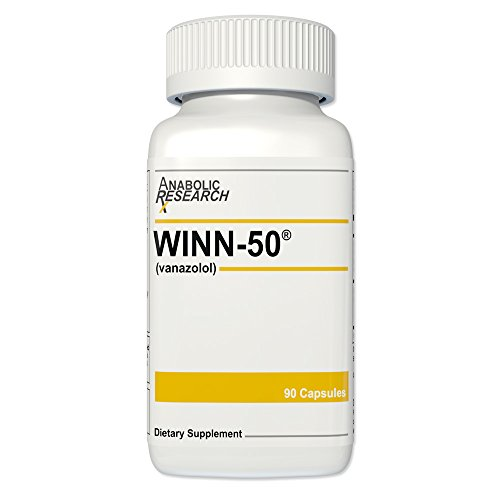 Winn-50 - Energy, Burn Fat & Lean Muscle Gains - Winn50-1 Month Supply (Clenbuterol Tablets)
