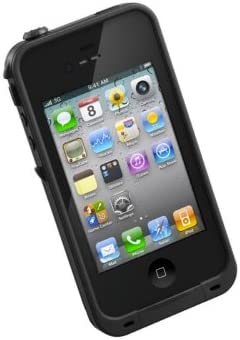 official photos b9516 ee472 LifeProof FRĒ iPhone 4/4s Waterproof Case - Retail Packaging - Black
