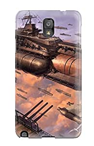 XuLufBf8824OusIt Case Cover Steampunk Galaxy Note 3 Protective Case