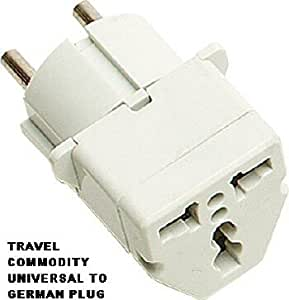universal plug adapter for europe converts plugs to. Black Bedroom Furniture Sets. Home Design Ideas