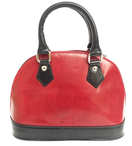 Superflybags - Womens Tote Bag M Red-black
