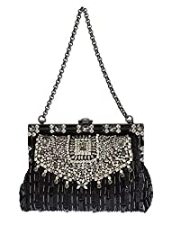 Crystal Embellished VANDA Clutch Bag