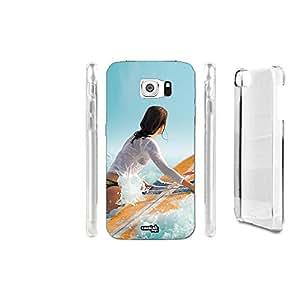 FUNDA CARCASA SURF MARE GIRL PARA SAMSUNG GALAXY S6 EDGE PLUS SM-G928F