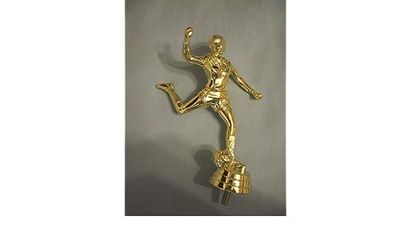 "lot of 20 female power kicker soccer trophy parts 5 1//8/"" tall Freeman 8656-1"