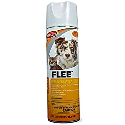 Flee Dog, Cat, Puppy and Kitten Flea and Tick Spray 12.3 oz. Can by Martin\'s