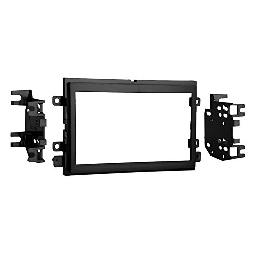 2 Piece Lincoln Navigator - Metra 95-5812 Double DIN Installation Kit for Select 2004-up Ford Vehicles -Black