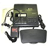 Sony BM-850 Microcassette Transcriber with Foot Pedal and Headset