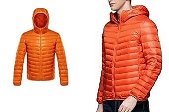 Amazon.com: Down Coat Male Ultra Light Down Jacket Men's