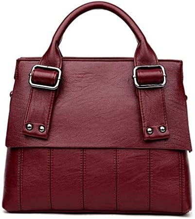 汎用性の高いファッションショルダーメッセンジャーバッグ、女性のハンドバッグショルダーバッグ、赤、32 * 25 * 12 Cmの韓国語版 美しいファッション