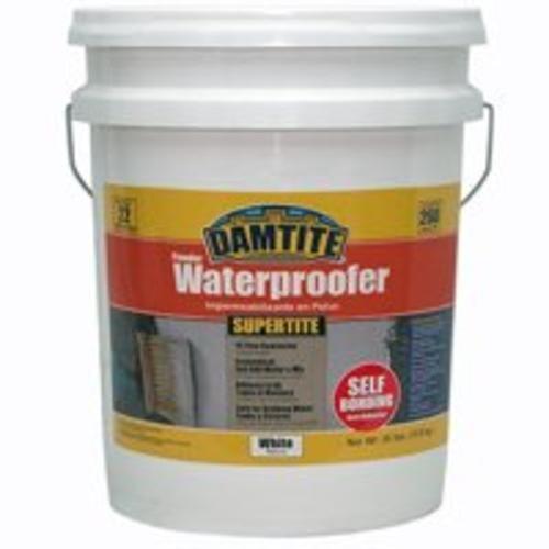 Damtite 01351 White SuperTite SelfBonding Powder Waterproofer 35 lb Pail
