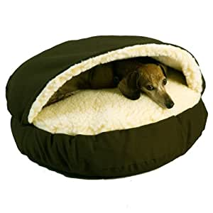 Snoozer Cozy Cave, Olive, Small