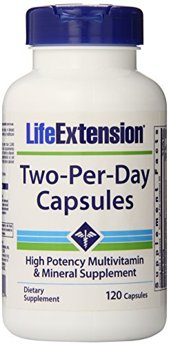 Life Extension Two Per Day 120 Capsules (Life Extension Multi)