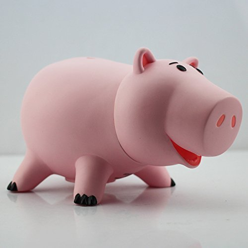 New 2014 Toy Story Hamm Piggy Bank Pink Pig Coin Box PVC Model Toys For Children 820cm With Box ()