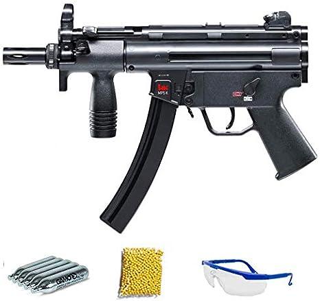 Umarex – Subfusil HK MP5 K-M6 | Subfusil de Airsoft Calibre 6mm (Arma Larga de Aire Suave de Bolas de plástico o PVC). Sistema: CO2 <3,5J