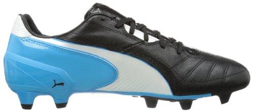 Puma Spirit FG - Botas de fútbol para hombre Negro (Schwarz (black-white-fluo blue 07))