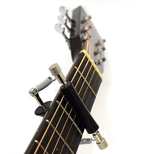 Rolling Capo,Glider Guitar Capo Guitar Sliding Capo Guitar Mobile Capo Guitar Accessories Musical Instrument Accessories - iLuiz - Musical Instruments & Accessories