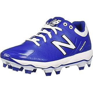 New Balance Men's 4040 V5 TPU Molded Baseball Shoe, Royal/White, 14 M US