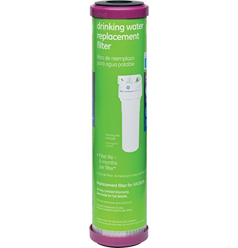 Single Water Filter System (GE FXUTC Drinking Water System Replacement Filter)