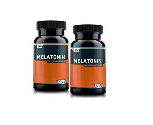 Optimum Nutrition Melatonin Tablets packs