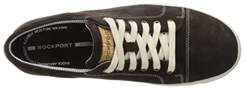 Toe to Suede Rockport Chocolate Mens Lace Harborpoint qpawwItP