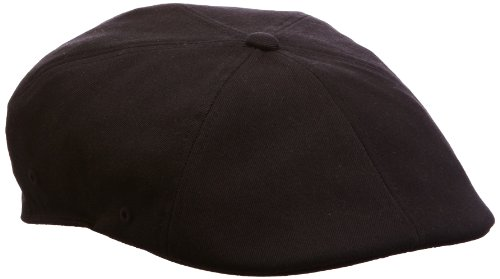 Kangol Wool Flexfit 504 Cap Hat, black, (Kangol Black Hat)