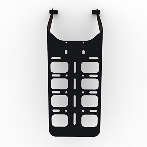 Cargo Rack Luggage Carrier Utility Rear Tail Holder Black Powdercoat fits: 00-16 Suzuki DRZ400 - Immix Racing - 100-004-01-Black-a ()