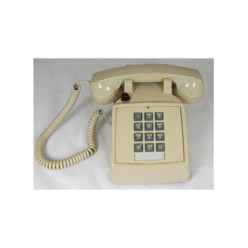 - Cortelco 250044-Vba-27m Desk Phone With Message - Ash