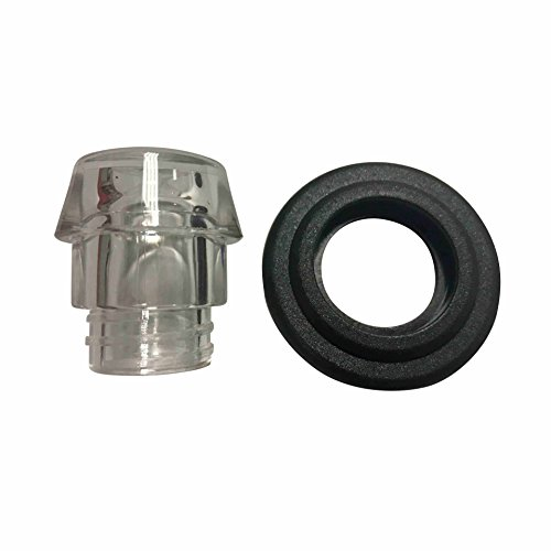 Replacement Plastic Knob Top and Washer Ring fits Farberware Yosemite Coffee Percolators