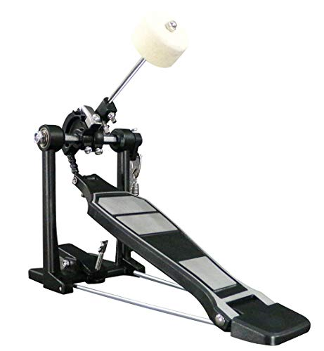 Foraineam Drum Kit Pedals Heavy Duty Single Bass Drum Pedal ()