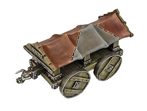 War World Gaming Medieval Siege Battering Ram - 28mm Fantasy Wargaming Terrain Model Diorama