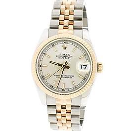 Rolex Datejust 2-Tone Rose/SS 31mm Midsize Jubilee Watch