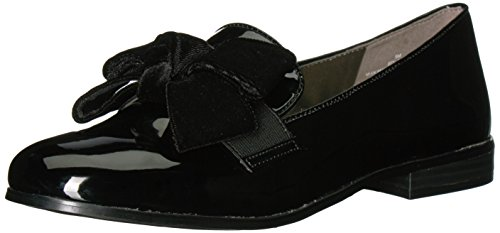 Bandolino Women's Lomb Loafer Flat,Black,8.5 M (Women Patent Leather Shoes)