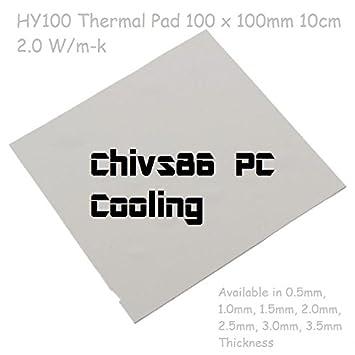 Chivs86 PC Cooling® HY100 - 10cm x 10cm / 100mm x 100mm