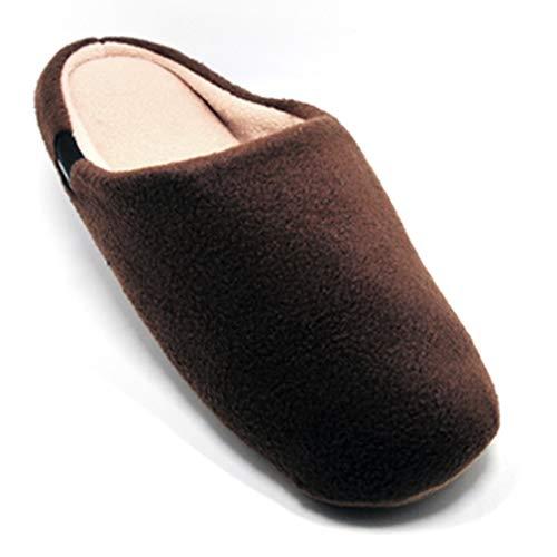 Warm Candy Alotus Slippers Light Fleece Unisex Color Brown Indoor xXXgzR